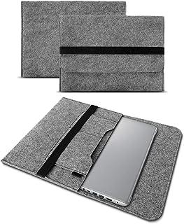 UC-Express Hoes compatibel met Lenovo ThinkPad T14 T14i T14s tas vilt notebook cover laptop case 14 inch, kleur: grijs