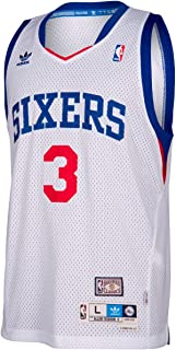adidas Philadelphia 76ers Allen Iverson White Soul Swingman Jersey