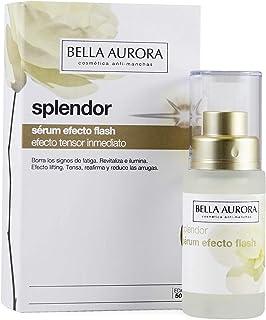 Bella Aurora Splendor Sérum Efecto Flash Facial Anti-Arrugas Tratamiento Anti-Edad para Mujer Día y Noche 30 ml