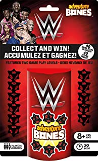 Aquarius WWE Adventure Bones Dice Game, Red