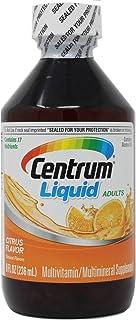 Centrum Liquid Multivitamin / Multimineral Supplement Citrus Flavor 8 Ounce (Value Pack of 4)