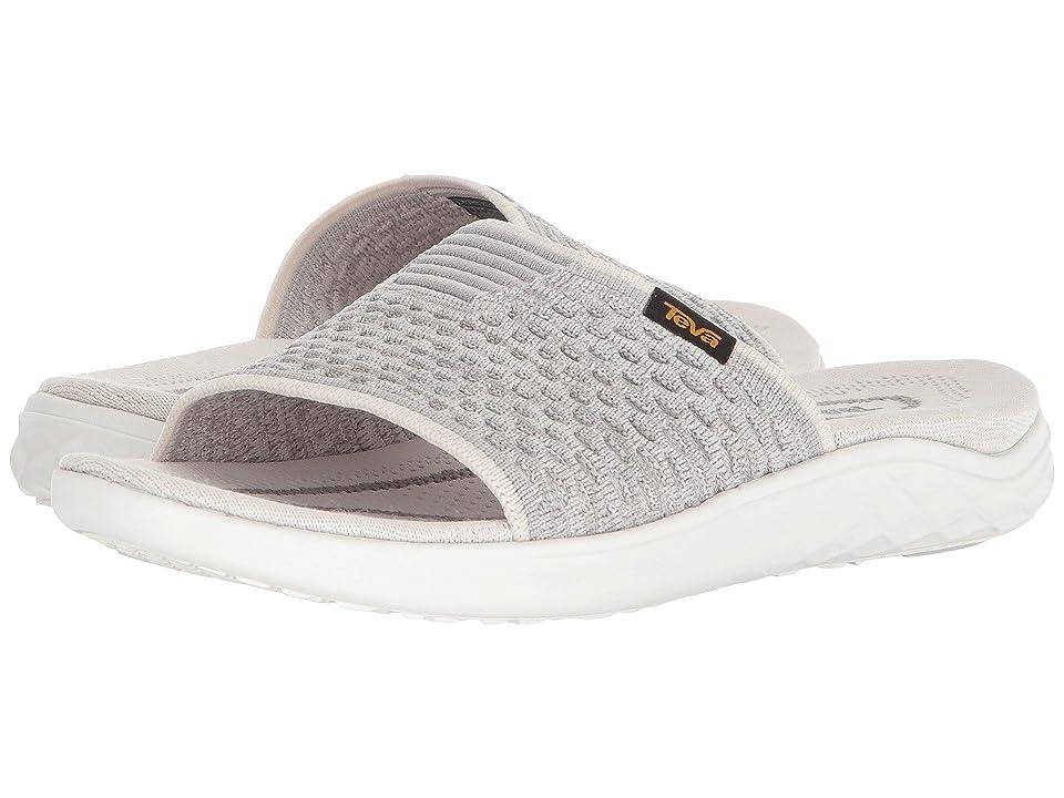 Teva Terra-Float 2 Knit Slide (Bright White) Women