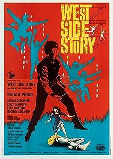 """Herbé Poster """"West Side Story"""", 70 x 90 cm, vintage poster"""