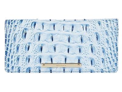 Brahmin Ombre Melbourne Ady Wallet (Poolside) Wristlet Handbags