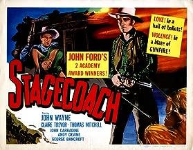Posterazzi EVCMCDSTAGEC033 Stagecoach Movie Poster Masterprint 14 x 11