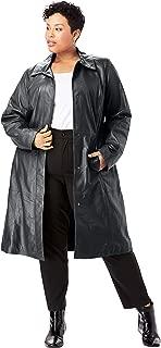 Jessica London Women's Plus Size Trench Coat