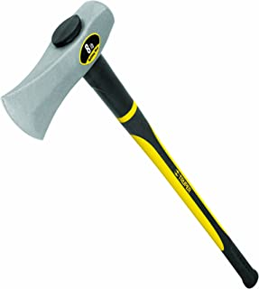 Truper 30958 8-Pound Splitting Maul, 36-Inch Fiberglass Handle