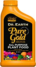 Dr. Earth Pure Gold All Purpose Liquid Plant Food 24 oz Concentrate