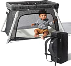Best Lotus Travel Crib - Backpack Portable, Lightweight, Easy to Pack Play-Yard with Comfortable Mattress - Certified Baby Safe Review