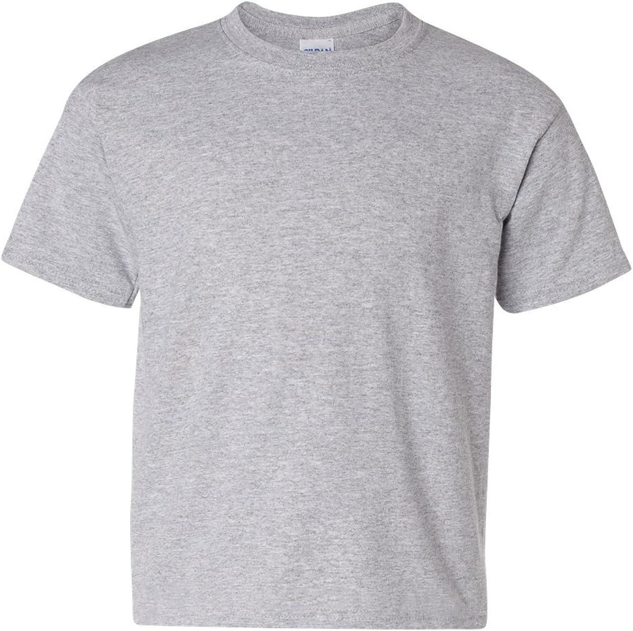 Heavy Cotton T-Shirt (G500B) Grey, M (Pack of 12)