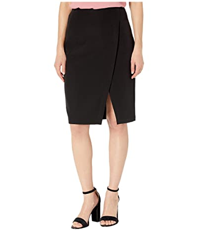 NIC+ZOE Push the Pencil Skirt (Black Onyx) Women