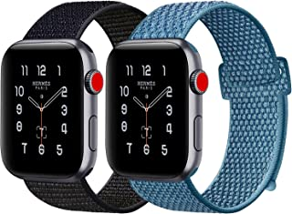ATUP Compatible with Watch Band 38mm 40mm 42mm 44mm, Soft Breathable Wristbands for iWatch Series 4/3/2/1