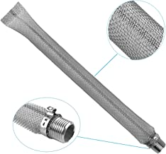 Podoy 12'' Bazooka Screen Stainless Steel Kettle Tube Mash Tun Mesh Filter Boil Screen Brew for Home Brew (12 inch)