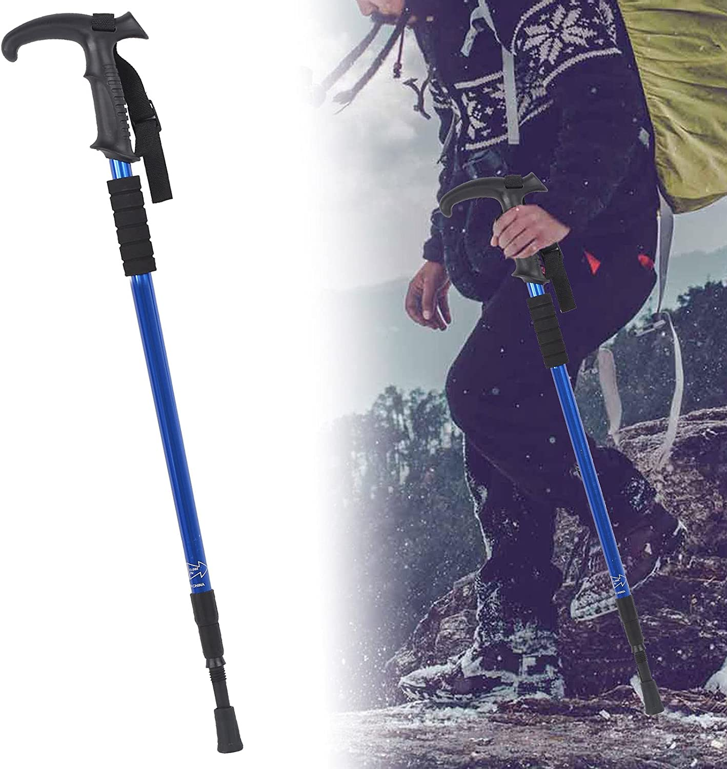 xianshi New Orleans Mall cheap Hiking Pole Long Service in Life Weight Three†Light