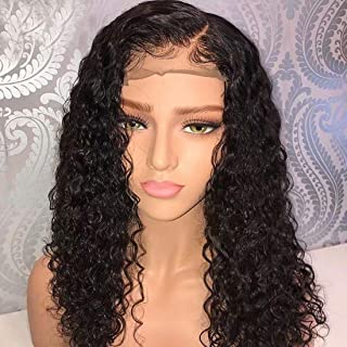 Lace Front Wigs Human Hair SMHair Brazilian Virgin Glueless Sexy Long Curly Wigs for Black Women Pre Plucked with Baby Hair Natural Color 130% Density 24inch