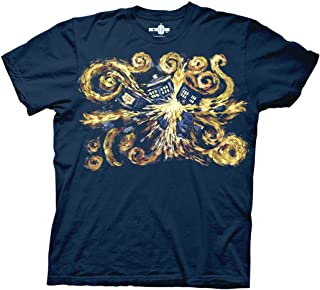 DR. WHO - Van Gogh The Pandoric Opens - Adult T-Shirt