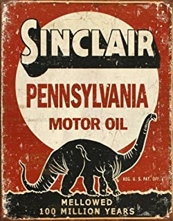 New Sinclair Motor Oil Dino HC 16