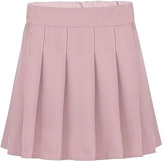 MSemis Falda Plisada Colegiala para Niñas Faldas Pantalón Uniforme ...