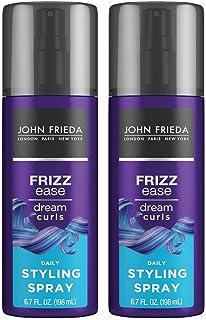 John Frieda Frizz-Ease Dream Curls Daily Styling Spray, 6.7 Fluid Ounce (Pack of 2)