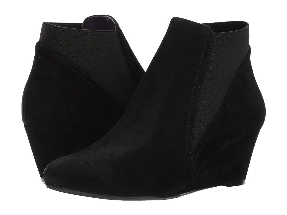 Vaneli Tasya (Black Suede) Women's Boots