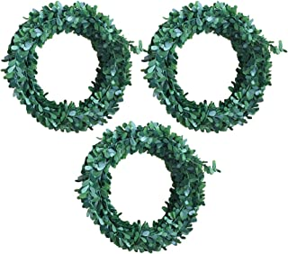 WINOMO Christmas Wreath Decoration Artificial Ivy Garland Green 7.5m Pack of 3