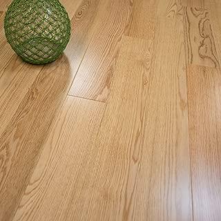 Red Oak w/4mm Wear Layer Prefinished Engineered Wood Flooring 5