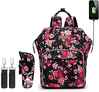 Diaper Bag, Backpack Diaper Bag and Changing Pad Baby Shower Gift Registry