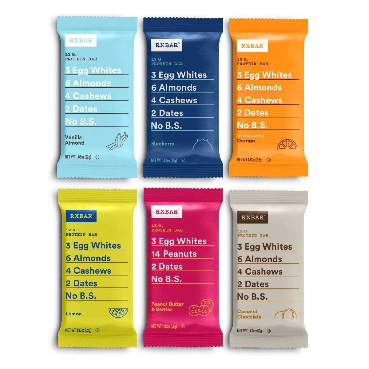 RXBAR Protein bar Max 63% OFF Summer Variety 1.83 12ct Pack Oz Sales of SALE items from new works