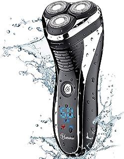 ریش تراش برقی بی سیم Hatteker مردان بدون سیم ریش تراشنده Pop-trimmer مرطوب USB خشک قابل شارژ