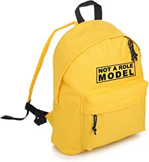 Not A Role Model Backpack School Bag Tumblr Hipster Grunge Fashion Slogan Feminist