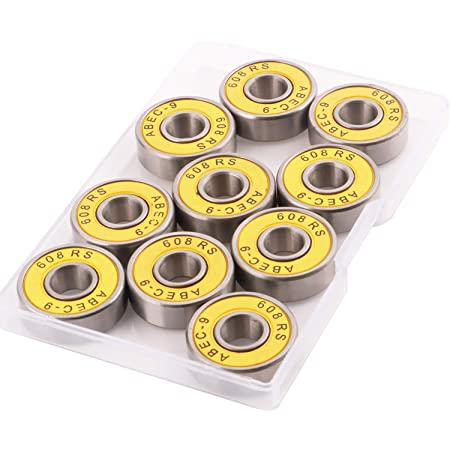 10 x roulements ABEC 7 608ZZ pour roller skateboard *NEUF*