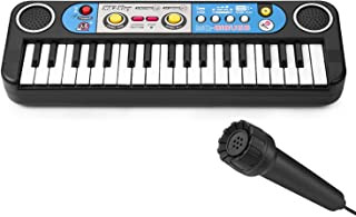 Lonian 37 Keys Kids Piano Keyboard, Mini Electronic Piano Keyboard Toy for Kids Birthday Christmas Day Gift
