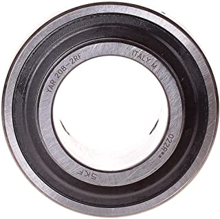 Cylindrical Surface Chrome Steel Bearing Width 21 Millimeters Eccentric Collar Contact Seals SKF YET-2 Series Ball Bearing Insert Size 80 millimeters Bore Diameter 1-1//2 inches