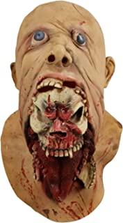 Blurp Charlie Mask, Gruesome Parasite Mask, Scary Ghoulish Latex Mask for Halloween