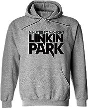 Linkin Park Logo Men's Hoodie American Rock Band Pullover Sweatshirt Teens Fashion Trend Personality Hooded Coat