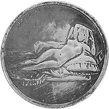 Reinly Leonardo Da Vinci Commemorative Coin Antique Imitation Handicraft Home Decor