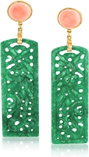Best coral and jade earrings Reviews