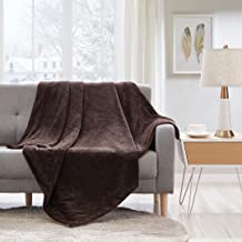 Sponsored Ad – Bourina Reversible Reversible Faux Fur Micromink Throw Blanket Lightweight Super Soft Cozy for Bed or Sofa ...