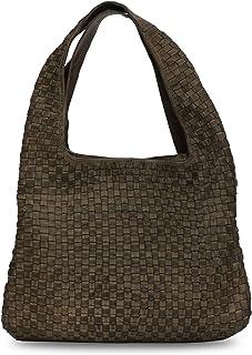Kompanero Olive Genuine Leather Handbag (B-9410-OLIVE)