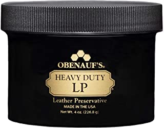 (4 Ounces, No Color) - Obenauf's Heavy Duty Lp 4 & 240ml Preserves Protects Boot Or Car Leather Usa Made