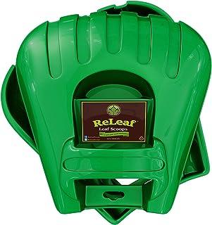 GARDEASE ReLeaf Leaf Scoops: Ergonomic, Large Hand Held Rakes for Fast Leaf & Lawn Grass Removal