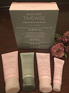 Mary Kay Timewise Miracle Set 3D The Go Set Normal to Dry Skin (4 pieces)