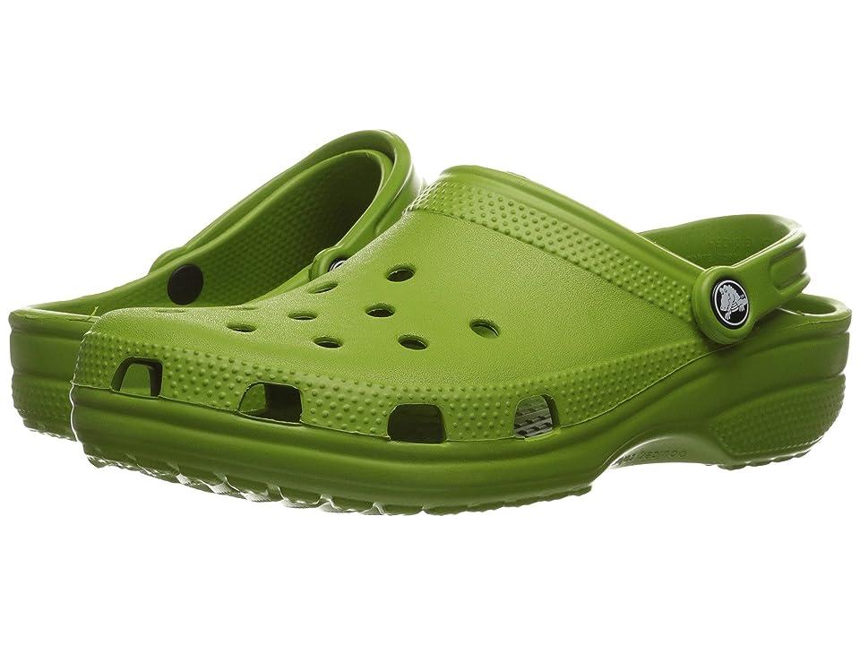 Crocs Classic Clog (Parrot Green) Clog Shoes