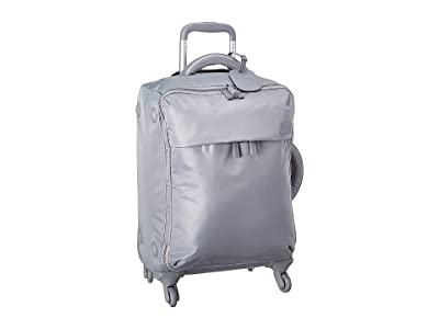 Lipault Paris Original Plume Spinner 55/20 Carry-On (Pearl Grey) Carry on Luggage