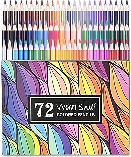72 lápices de colores vibrantes Set Lápices de colores preafilados Set puede usarse en libros de colorear para adultos par...