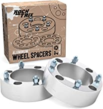RockTrix - 2 inch ATV Wheel Spacers (4x137, 110mm Bore, 10x1.25 Studs and Cone Seat Nuts) Compatible with various Kawasaki Can-Am Bombardier (Read Listing for Year Model) UTV Silver V3 50mm 2pcs