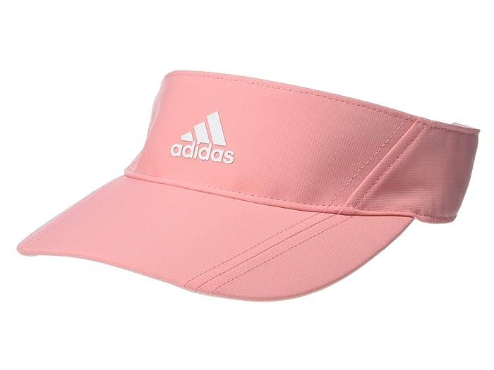 Women's Vintage Hats | Old Fashioned Hats | Retro Hats adidas Golf Comfort Visor Glory Pink Caps $20.00 AT vintagedancer.com