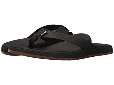 Reef Contoured Voyage (Black) Men