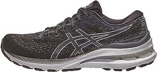 ASICS Women's Gel-Kayano 28 Running Shoes, 7.5, Black/White