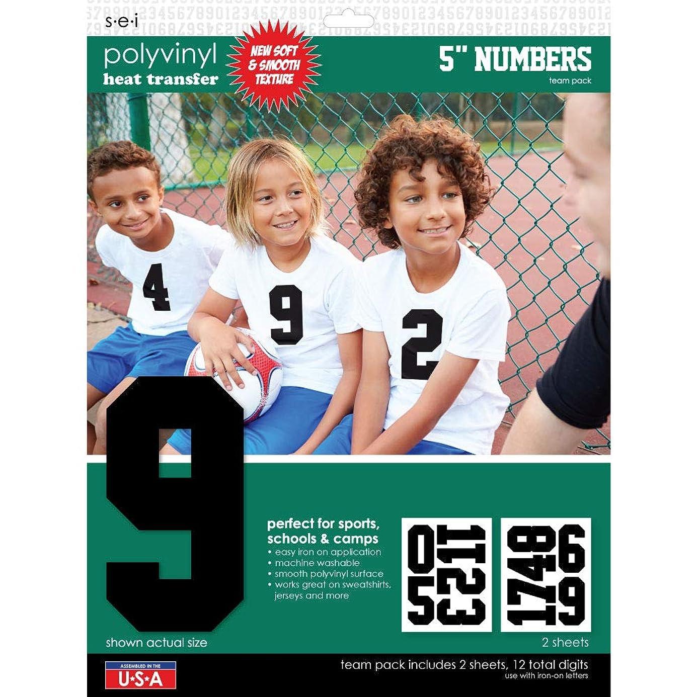 ESI SEI Sport Letter Polyvinyl Heat Transfers Scrapbook, Multi-Colour, 34.29 x 26.03 x 0.2 cm